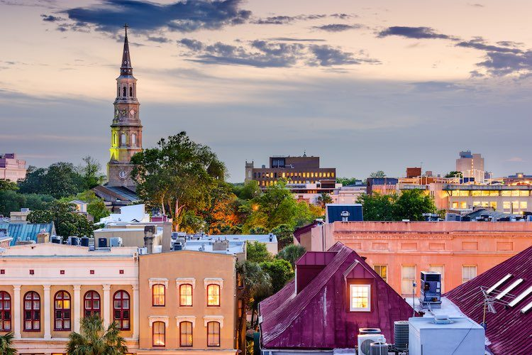 Downtown Charleston (Shutterstock)