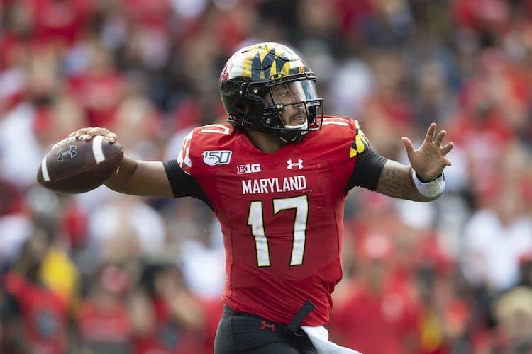 Maryland Terrapins quarterback Josh Jackson (Tommy Gilligan-USA TODAY Sports
