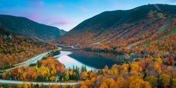 New Hampshire's Franconia Notch State Park (Shutterstock)