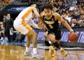 Mar 28, 2019; Louisville, KY, United States; Purdue Boilermakers guard Carsen Edwards (3)(Jamie Rhodes-USA TODAY Sports