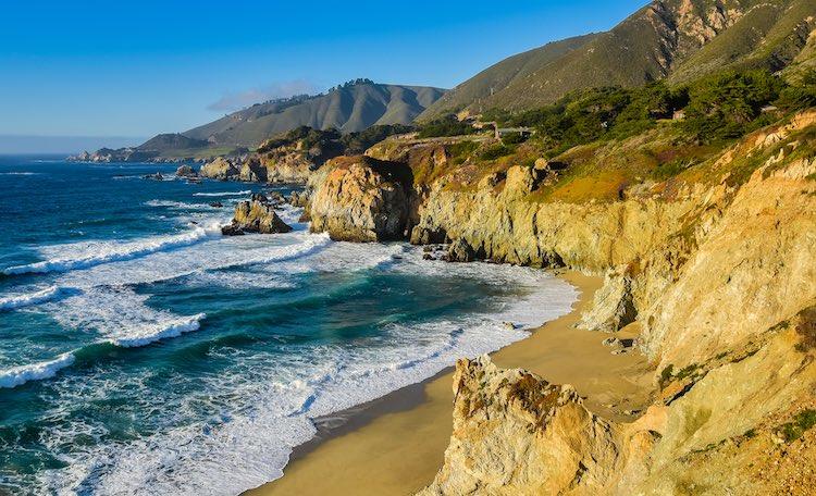 Big Sur, Monterey County, California (Shutterstock)