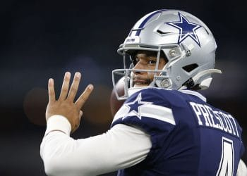 Cowboys QB Dak Prescott (Credit: Tim Heitman-USA TODAY Sports)