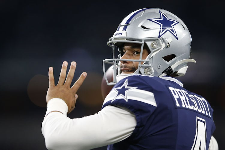 Cowboys QB Dak Prescott (Credit: Tim Heitman-USA TODAY Sports)