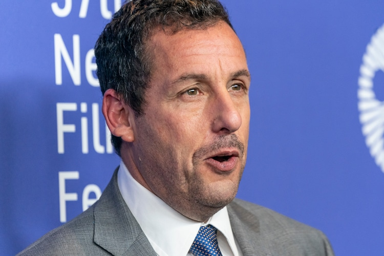 October 3, 2019: Adam Sandler attends the Uncut Gems premiere during 57th New York Film Festival at Lincoln Center Alice Tully Hall (Shutterstock)