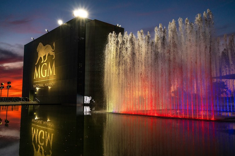MGM National Harbor Hotel & Casino in in Oxon Hill, Maryland (Shutterstock)
