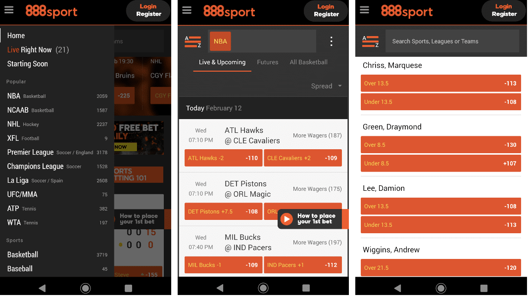 888sport sportsbook review mobile app