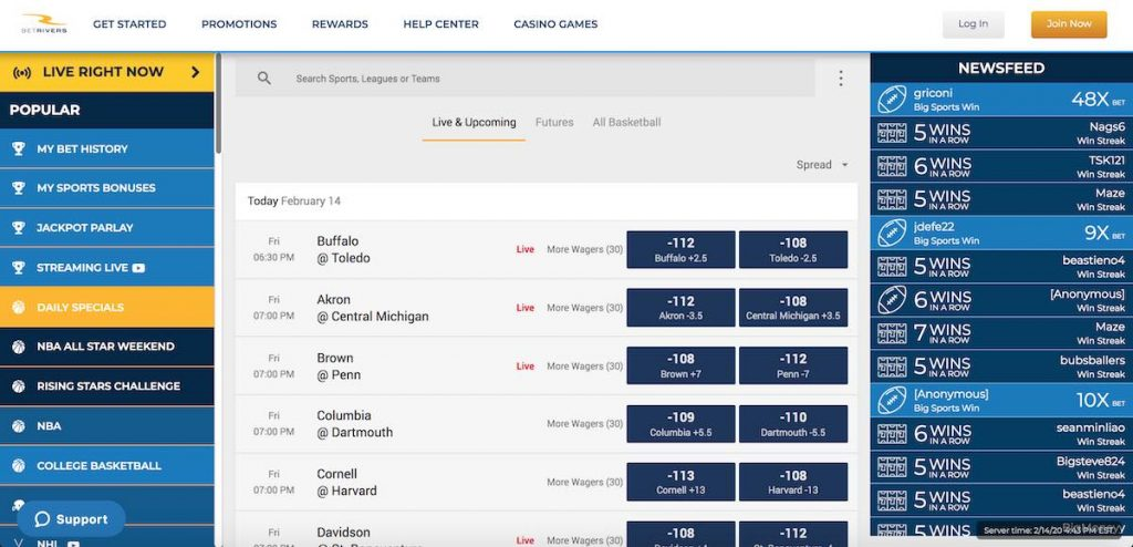 betrivers sportsbook promo code review