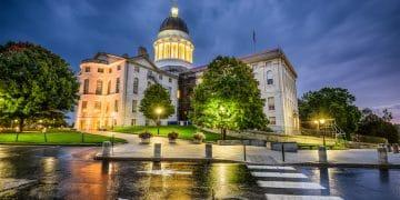 Maine's Capitol Building in Augusta