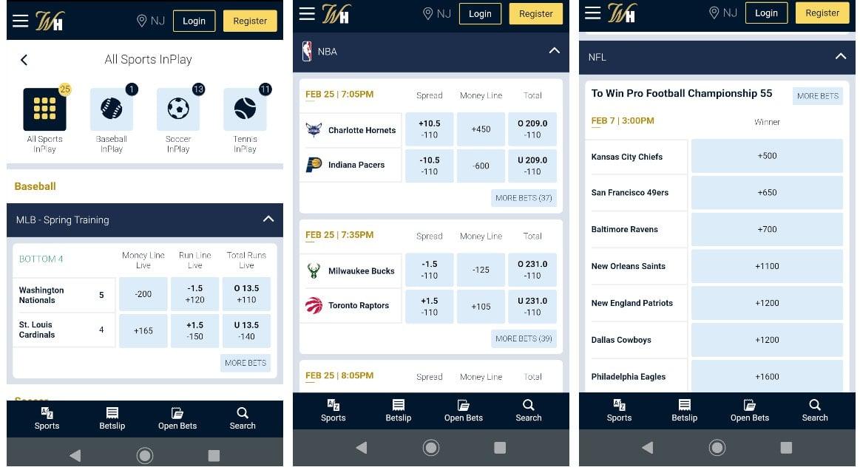 Sportsbook Mobile Login