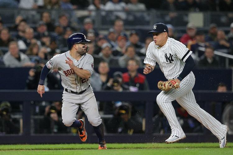 Oct 17, 2019; Bronx, NY, USA; (Brad Penner-USA TODAY Sports)