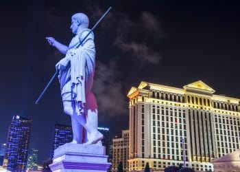 The Caesars Palace hotel on December 04, 2014 in Las Vegas. (Shutterstock)