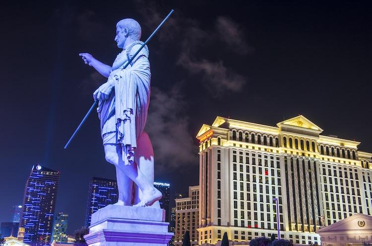 The Caesars Palace hotel on December 04, 2014 in Las Vegas. (Shutterstock)