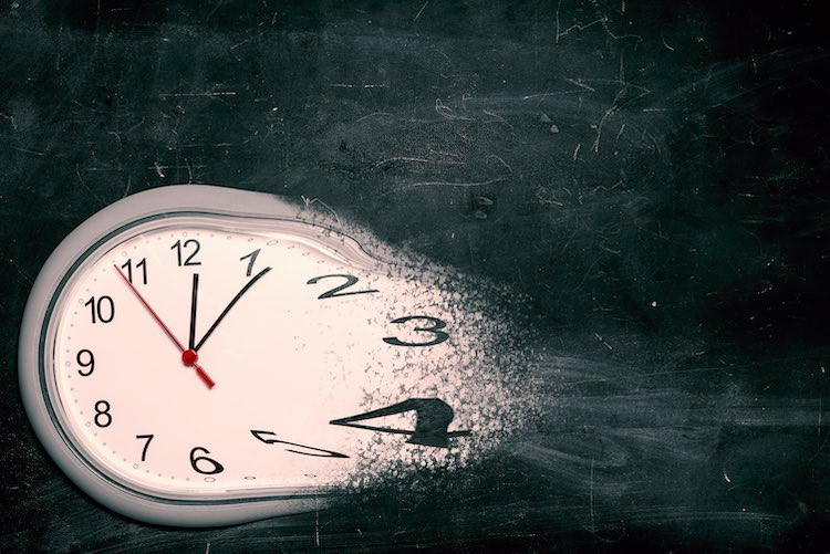 The time is... eventually. (Shutterstock)