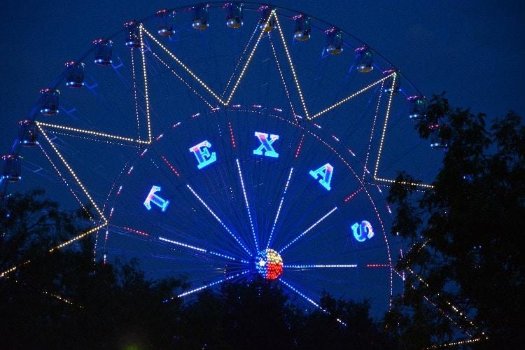 Texas-Ferris-Wheel-Night