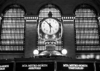Clock in Grand Central Terminal (