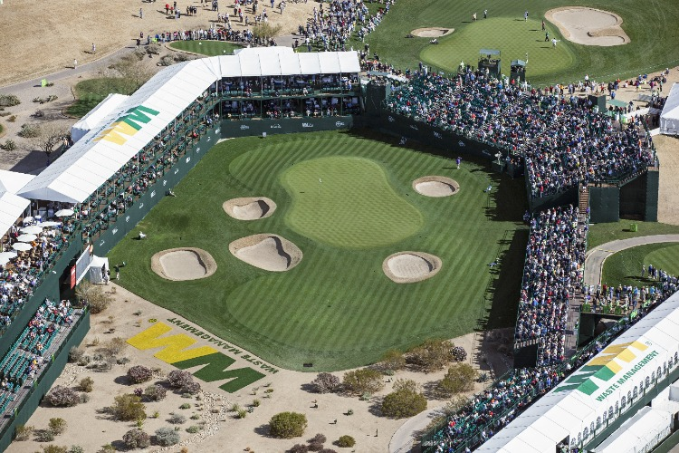 16th-hole-Waste-Management-Open