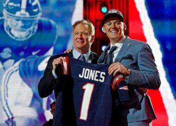 mac jones nfl draft goodell