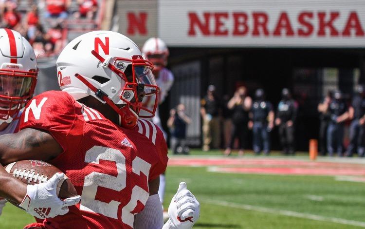 Nebraska-Player-Carries-Ball