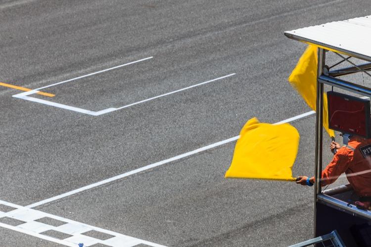 Caution-Flag-Auto-Race