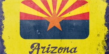 Arizona-Flag-Painting