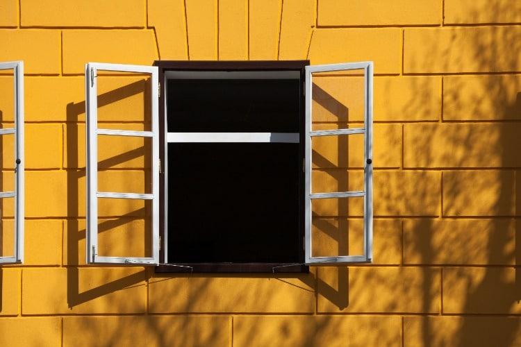 Window-Open-Yellow-House