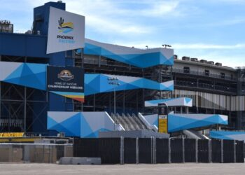 Phoenix Raceway Facade