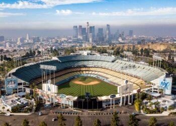 Dodger-Stadium-LA-Skyline