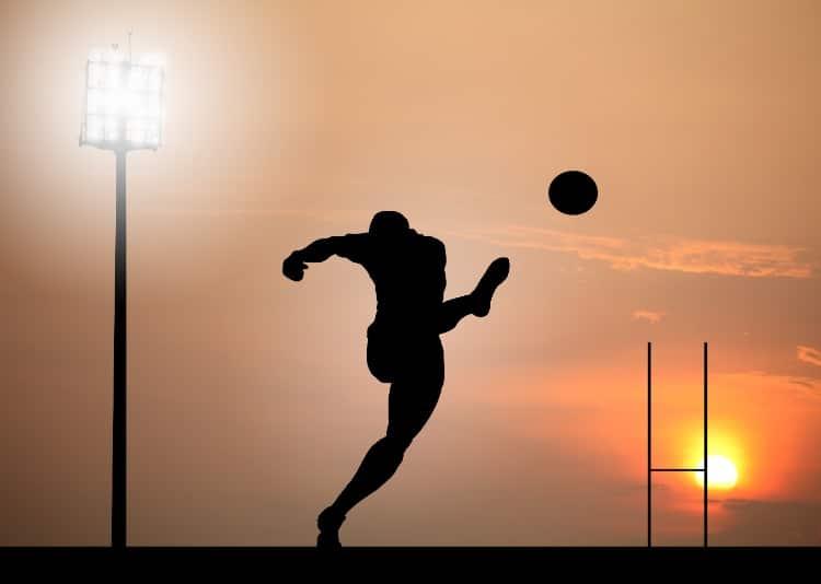 punt-football-sunset