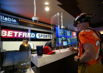 A Betfred sportsbook ticket window in Colorado.  (Courtesy: Betfred USA)
