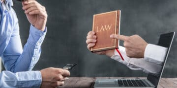 law and laptop